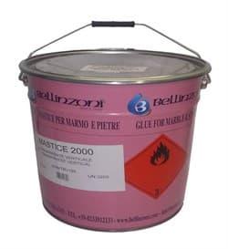 Полиэфирный клей-мастика густой Bellinzoni 2000 StrawYel Solido 03 (бежевый) 25кг - фото 10022