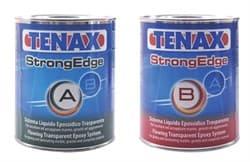 Эпоксидный клей жидкий Tenax Strong Edge A+B (прозрачный) 1+0,5л - фото 10066