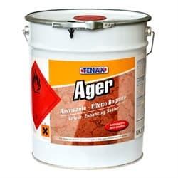 Пропитка Ager (мокрый камень/защита/антиграффити) 10л Tenax - фото 10125