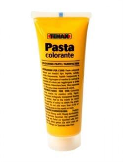 Краситель желтый Pasta Colorante для полиэфирного клея пастообразный 50мл Tenax - фото 10352