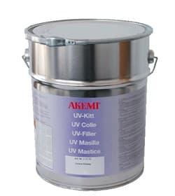 Полиэфирный клей для камня густой Akemi UV Umbra L-special бесцветный 10кг - фото 10462