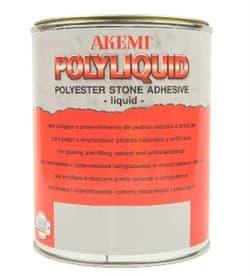 Полиэфирный клей для камня жидкий Akemi Poly-Liquid (темно-бежевый) 1л (10156) - фото 10496