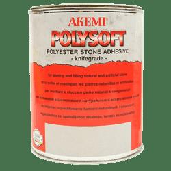 Клей полиэфирный кремообразный Akemi Polysoft (прозрачный с медовым оттенком) 17,5кг (10459) - фото 10548