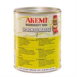 Полиэфирный клей для мрамора пастообразный Akemi 1000 T (оливковый) 1,7кг (10503) - фото 10598