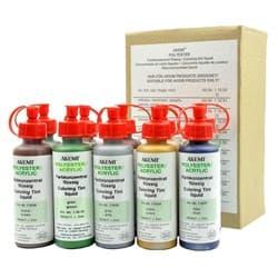Набор жидких красителей для полиэфирного клея 10шт по 50мл Akemi - фото 10616