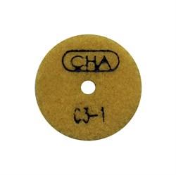 АГШК С3 d. 50мм*20*2 мрамор CHA №1 (Черепашка) - фото 13388