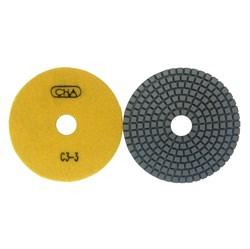АГШК С3 d. 100мм*20*2 мрамор CHA №3 (Черепашка) - фото 13402