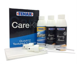 Набор средств по уходу за кварцевым агломератом CARE KIT QUARZO TEXTURED Tenax - фото 13649
