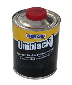 Покрытие Uniblack 1 (усилитель черного цвета) 1л Tenax - фото 3727