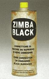 Покрытие защитное Zimbablack 1л (затемняющий эффект)  Federchemicals - фото 3890