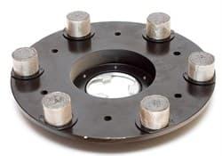Планшайба металлическая O 430 мм LUX (свинец) гранит CHA - фото 3905