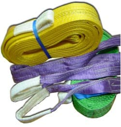 Строп текстильный двухпетлевой 1т/7м - фото 4156