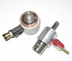 Переходник для сверла 1/2 цанга х 13 мм - шестигранник (с подачей воды) Diam-S - фото 4205