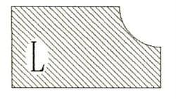 Фреза алмазная профильная L-30 (#60/70) гранит/мрамор вакуумное спекание Diam-S - фото 4772