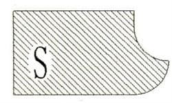 Фреза алмазная профильная S-30 (#60/70) гранит/мрамор вакуумное спекание Diam-S - фото 4797