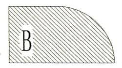Фреза алмазная профильная B-20 (#30/40) гранит спечная Diam-S - фото 4812