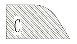 Фреза алмазная профильная C-20 (#30/40) гранит спечная Diam-S - фото 4816