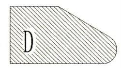 Фреза алмазная профильная D-20 (#30/40) гранит спечная Diam-S - фото 4818