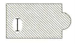 Фреза алмазная профильная I-30 (#30/40) гранит спечная Diam-S - фото 4831