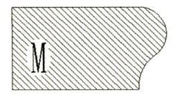 Фреза алмазная профильная M-20 (#30/40) гранит спечная Diam-S - фото 4836