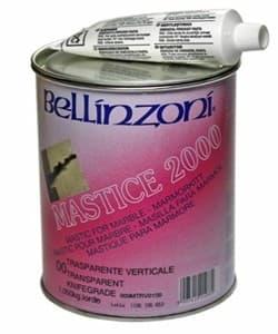 Полиэфирный клей-мастика густой Bellinzoni 2000 Transparente Solido 00 (медовый) 1кг - фото 6058