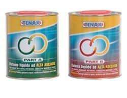 Эпоксидный клей желеобразный Tenax Bi-Bond A+B (медовый) 8+2кг - фото 6077