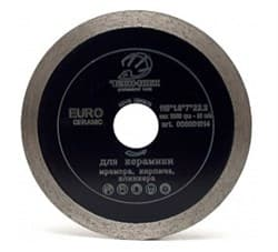 Диск TECH-NICK EURO Ceramic Ø115*22,2 (1,6*7,0) сплошной по керамике - фото 6396