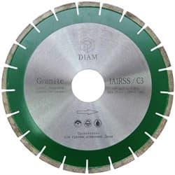 Диск DIAM 1A1S Granite Ø 170 2,4/12/22,2 мм турбо-сегментный по граниту - фото 6403