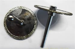Фреза алмазная малая диск O 50х6 мм (гальваника) - фото 7100