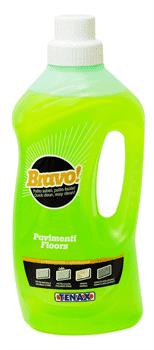 Очиститель Bravo Pavimenti (нейтральный) 1л Tenax - фото 7432