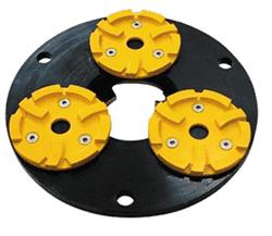 Планшайба металлическая для АШК Ø260 мм CHA - фото 7503