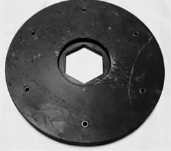 Планшайба пластиковая для АШК Ø 208 мм CHA - фото 7519
