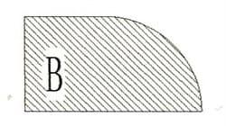 Фреза алмазная профильная В-20 (#30/40) гранит спечная сегментная Diam-S - фото 7550
