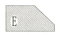 Фреза алмазная профильная E-30 (#30/40) гранит спечная сегментная Diam-S - фото 7552