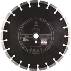 Диск отрезной по асфальту и кирпичу (d. 350мм) сегментный DIAM Blade Extra Line [25,4 мм] - фото 7788