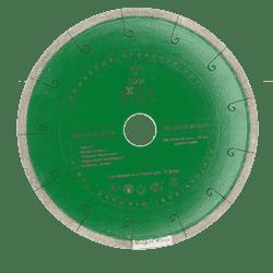 Диск DIAM Granite Elite Ø115*22,2 (1,6*7,5) Корона сплошной по граниту - фото 8207