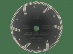 Диск для болгарки универсальный (d. 115мм) турбо TECH-NICK EURO STANDART [22,2 мм] - фото 8408