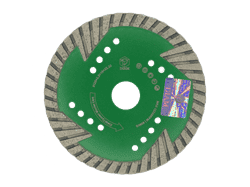 Диск для болгарки по граниту (d. 125мм) турбо DIAM Master Line [М14] - фото 8434