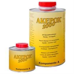 AKEPOX (Акепокс) 2000 – эпоксидный клей Akemi (прозрачно-медовый) 1,25кг - фото 8595