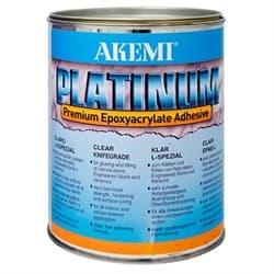 Полиэфирный клей густой Akemi Platinum (прозрачный) 900 мл (10725) - фото 8597