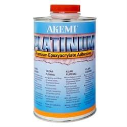 Полиэфирный клей жидкий Akemi Platinum (прозрачный) 900 мл (10726) - фото 8599
