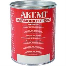 Полиэфирный клей кремообразный Akemi Marmorkitt 1000 (белый) 1л (10108) - фото 8602