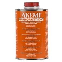 Полиэфирный клей для камня жидкий Akemi 1000 (прозрачно-медовый) 4,5л (10703) - фото 8613