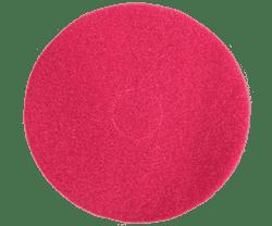 Круг войлочный для полировки FIB Ø 425х20мм на липучке (velcro) красный (синтетика) - фото 8670