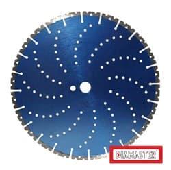 Диск DIAMASTER cold pressed COBRA Ø230*22,2 (2,8*15) сегментный по железобетону - фото 9190
