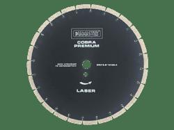 Диск для болгарки по бетону/железобетону (d. 125мм) сегментный DIAMASTER Premium COBRA [22,2 мм] - фото 9193