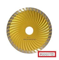 Диск для болгарки по бетону/железобетону (d. 125мм) турбо DIAMASTER COBRA Eco Wave [22,2 мм] - фото 9223