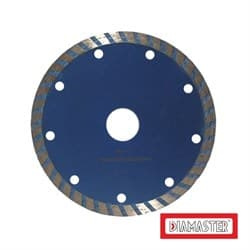 Диск для болгарки по бетону/железобетону и кирпичу (d. 125мм) турбо DIAMASTER COBRA Premium [22,2 мм] - фото 9240
