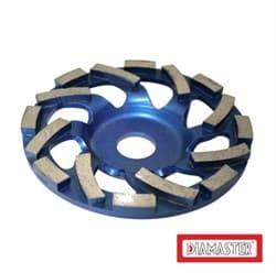 Алмазный шлифовальный круг (чашка) DIAMASTER COBRA Premium Ø 125мм бумеранг по бетону - фото 9281