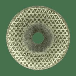 Диск по мрамору отрезной/шлифовальный с гальваническим покрытием DIAM-S - фото 9294